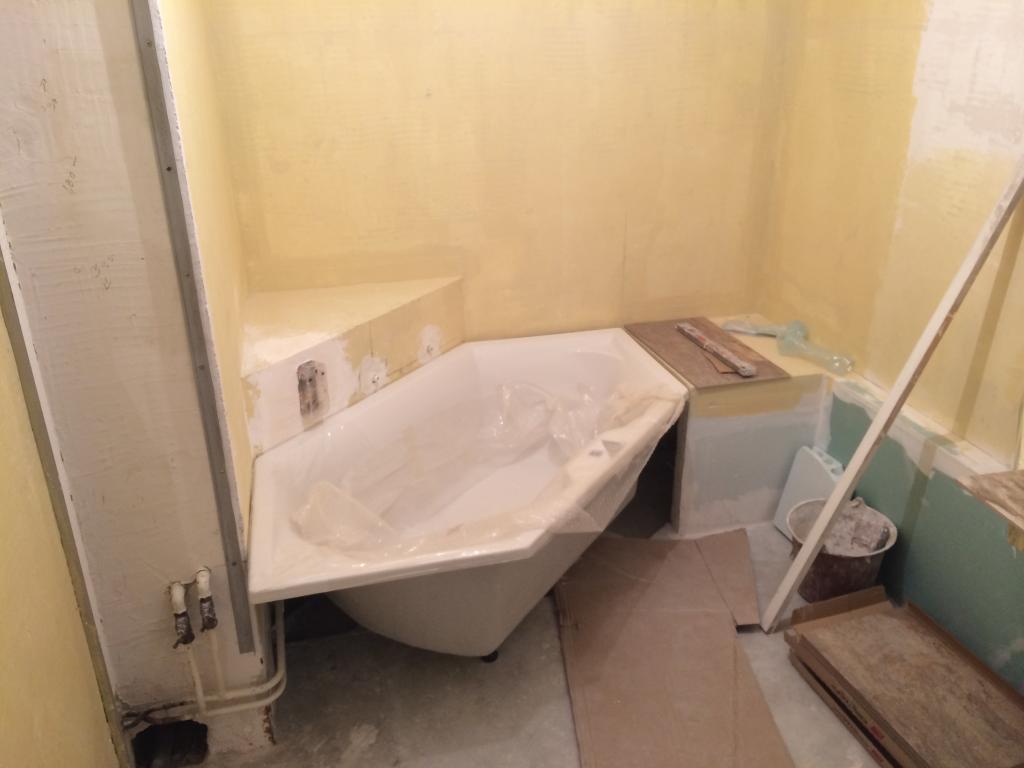 Travaux renovation salle de bains sannois pose carrelage for Carrelage salle de bain prix